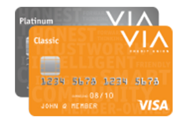 Visa Credit Card Login >> Visa Credit Cards Via Credit Union