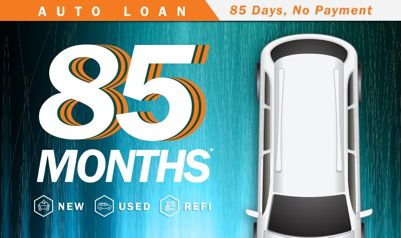 85 Month Auto Loan
